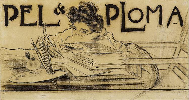Pel & Ploma, Ramon Casas, 1899 picture