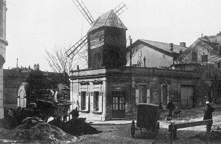 Moulin de la Galette, 1886 picture
