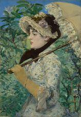 Bahar (Jeanne Demary'nin Çalışması), 1882