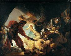Samson'un Kör Edilmesi, 1636