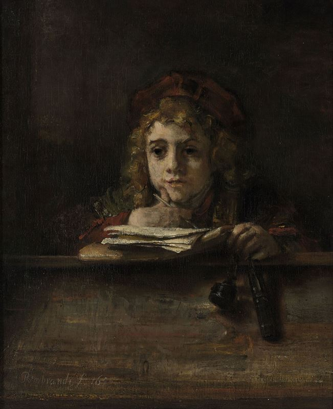 Picture for Titus at His Desk, 1655