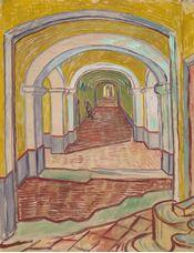 Show Corridor in the Asylum, 1889 details