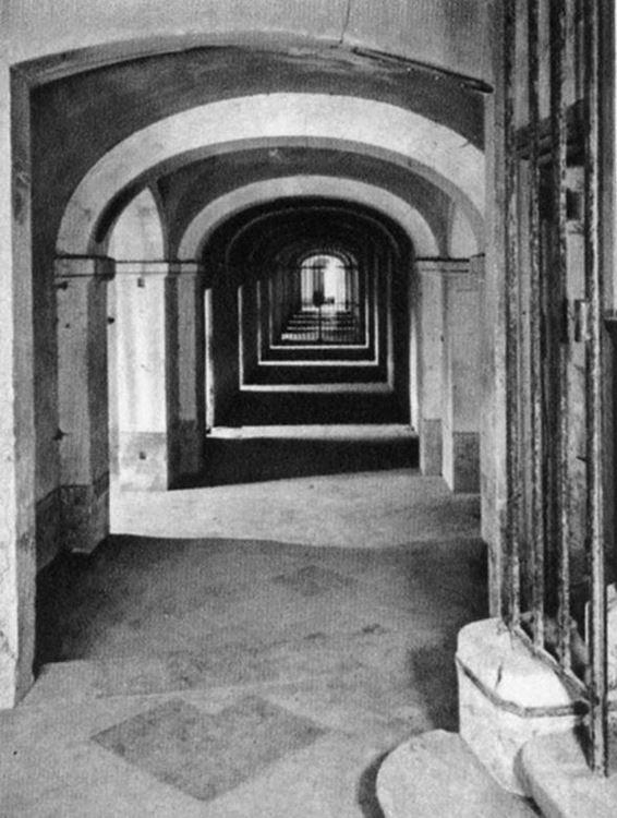 Akıl Hastanesi Koridor Girişi, 1889 picture
