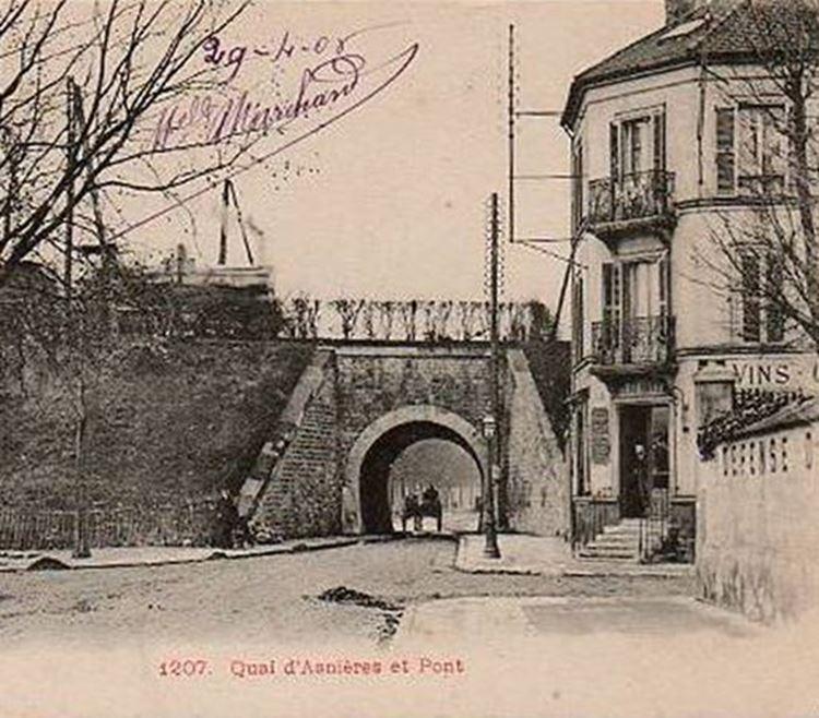 Alt Geçit Köprüsü ile Karayolu, 1887 picture