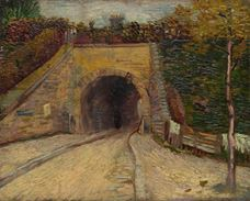 Show Roadway with Underpass the Viaduct, 1887 details