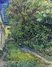 Show The Garden of The Asylum at Saint-Rémy, 1889 details