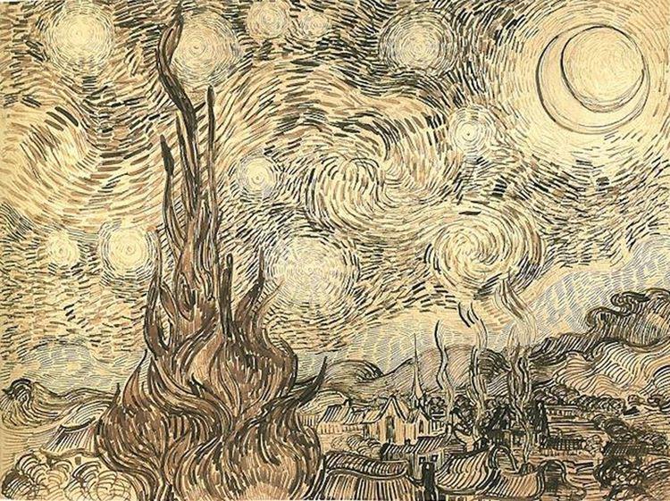 Yıldızlı Gece, 1889 picture