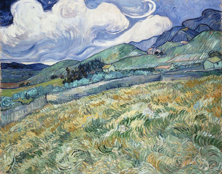 Saint-Rémy'den Manzara, 1889 picture