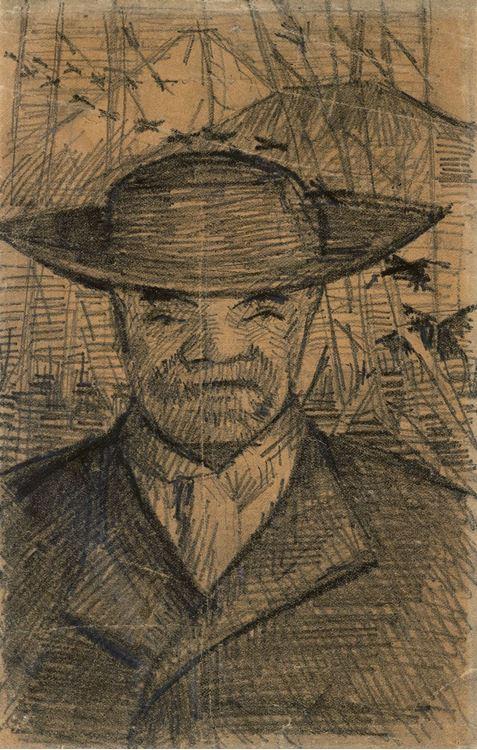 Père Tanguy'un Portresi,1887 picture