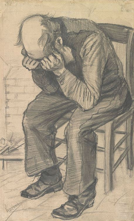 Üzgün Yaşlı Adam, 1890 picture