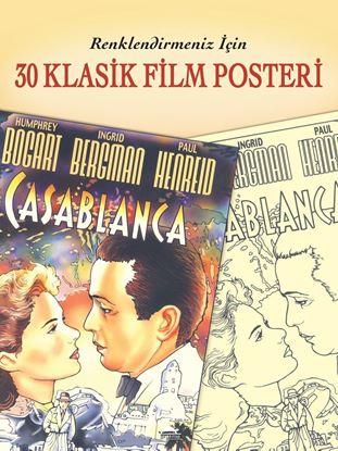 Renklendirmeniz İçin 30 Klasik Film Posteri