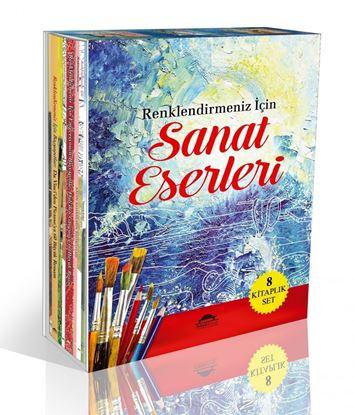 Renklendirmeniz İçin Sanat Eserleri 8 Kitaplık Set
