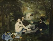 Show The Luncheon on the Grass, 1863 details
