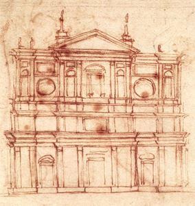 Picture of İlk Mimari İşleri - Michelangelo Buonarroti