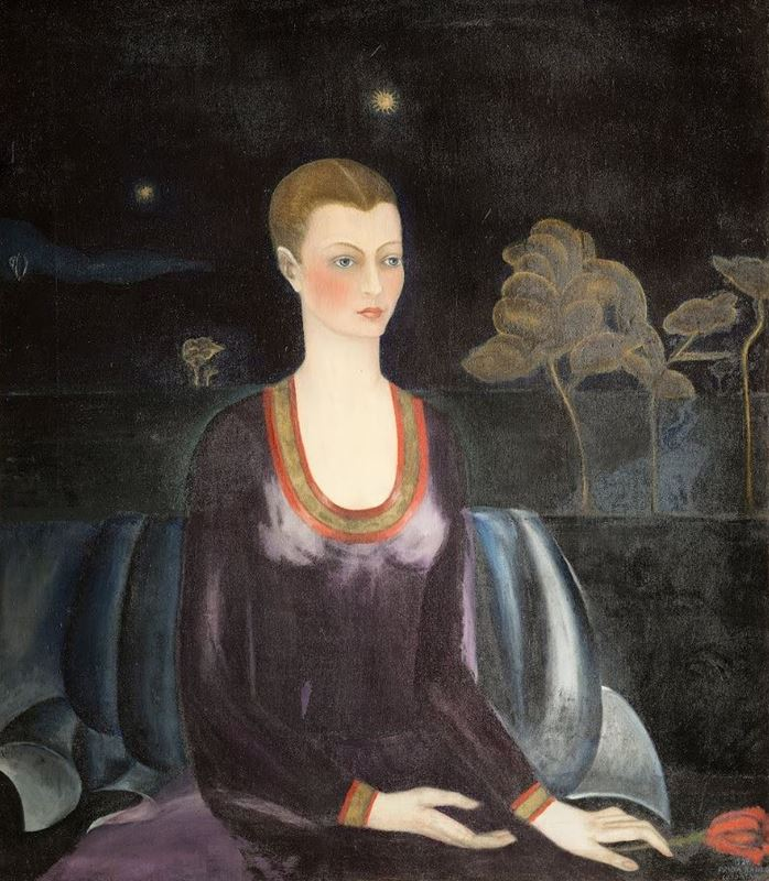 Alicia Galant'ın Portresi, 1927 resmi