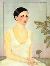 Cristina Kahlo'nun Portresi, 1928