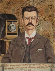 Show Portrait of My Father Guillermo Kahlo, 1952 details