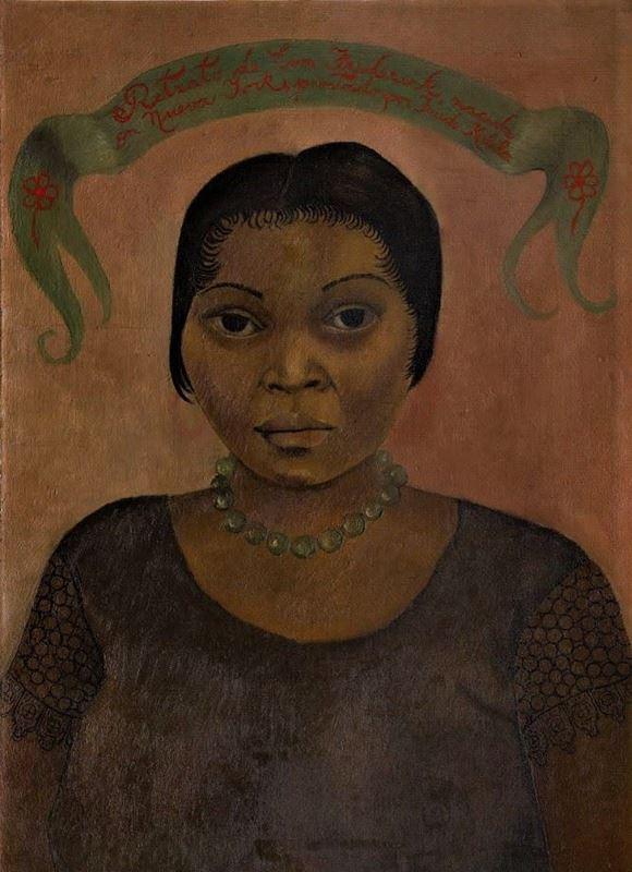 Eva Frederick'in Portresi, 1931 resmi