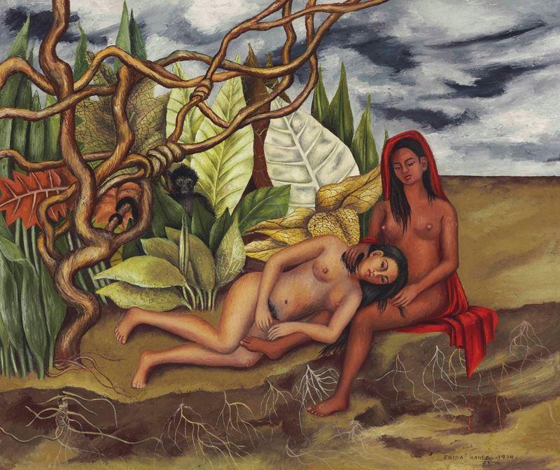 Ormanda İki Çıplak, 1939 resmi