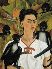 Maymunlu Otoportre, 1943
