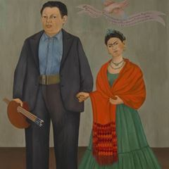 Picture for Frida ve Diego Rivera - Frida Kahlo