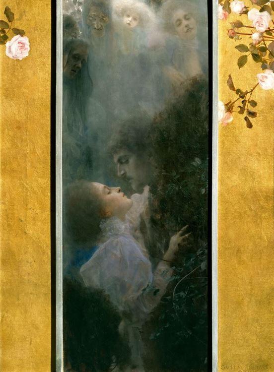 Gustav Klimt, Aşk, 1895 picture