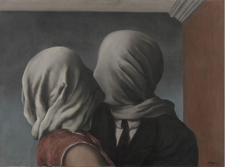 René Magritte, Aşıklar, 1928 picture