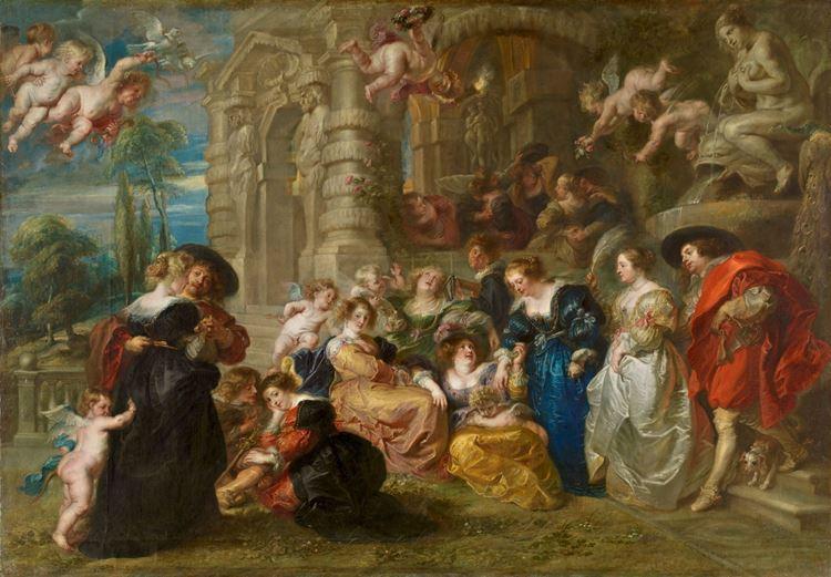 Peter Paul Rubens, Aşk Bahçesi, 1630-1635 picture