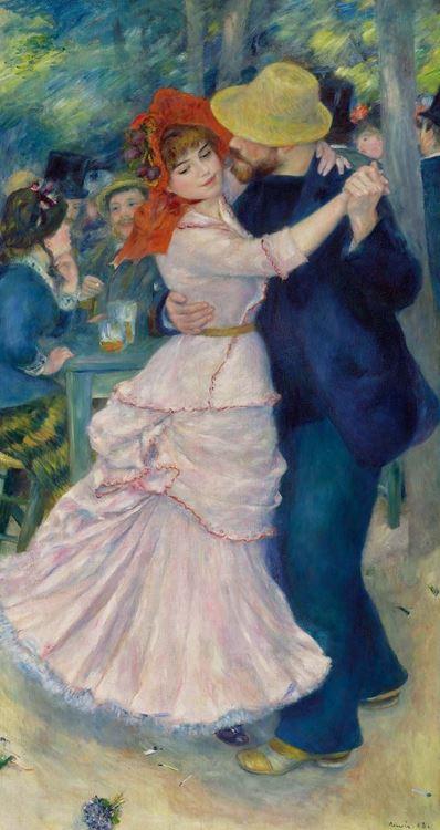 Pierre-Auguste Renoir, Bougival'da Dans, 1883 picture