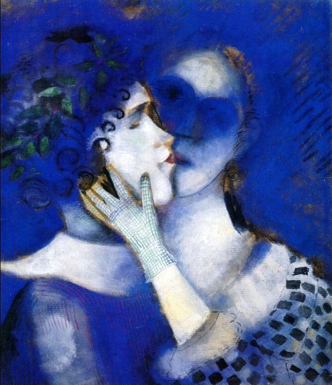 Marc Chagall, Mavi Aşıklar, 1914 picture