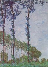 Show Poplars, Wind Effect, 1891 details