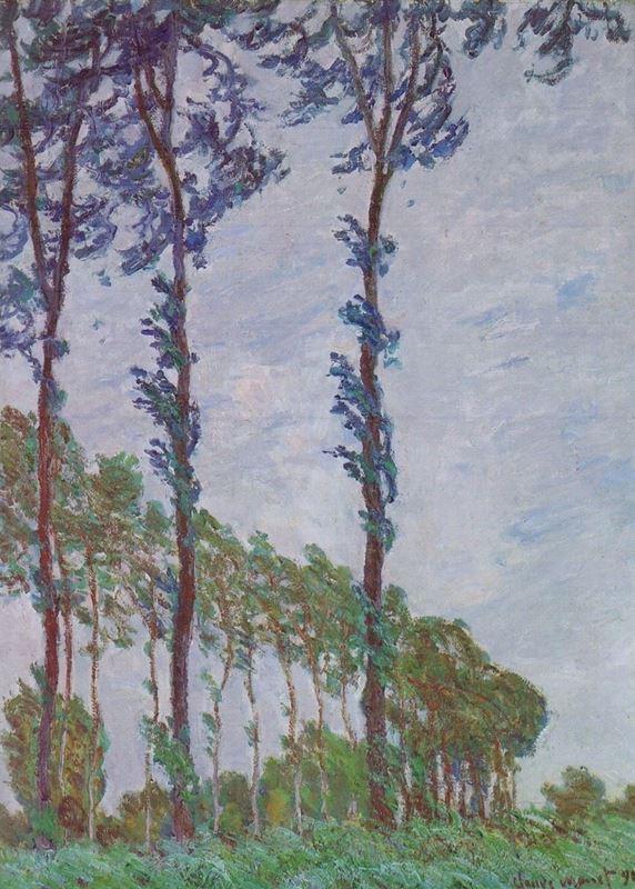 Kavaklar, Rüzgar Etkisi, 1891 resmi