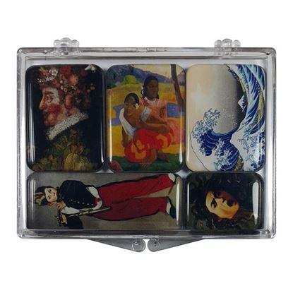 Karma Ressamlar 5'li Magnet Set -II-