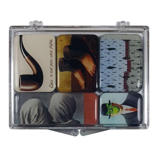 Magritte 5'li Magnet Set