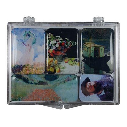 Monet 5'li Magnet Set -I-