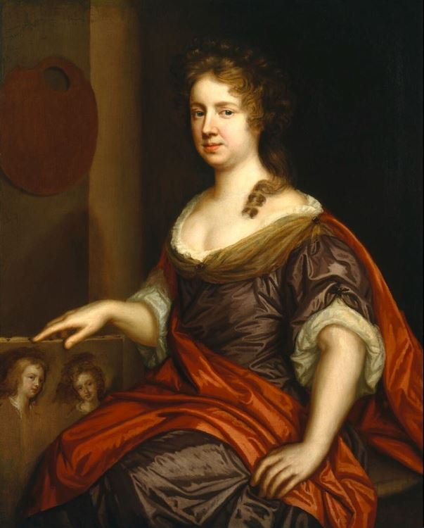 Mary Beale (1633-1699) picture