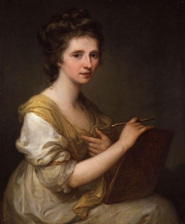 Angelica Kauffman (1741-1807) picture