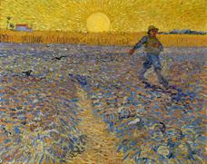 Show The Sower (after Millet), 1888 details