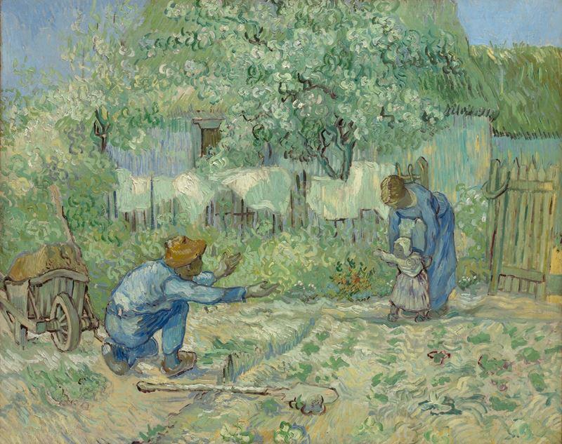 İlk Adım (Millet'den esinle), 1890 resmi
