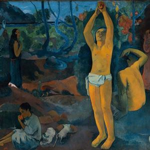 Picture of Where Do We Come From? Who Are We? Where Are We Going? - Paul Gauguin