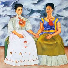 Picture for İki Frida - Frida Kahlo