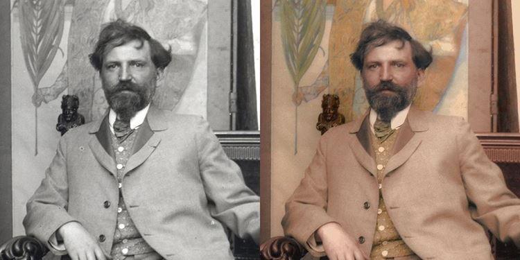 Alphonse Mucha picture