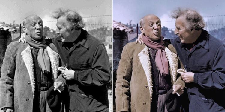 Pablo Picasso ve Marc Chagall picture