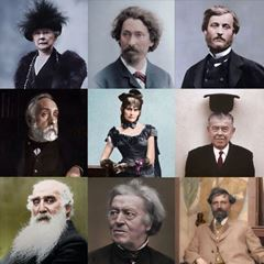 Colorized Photos of Painters - Part II picture