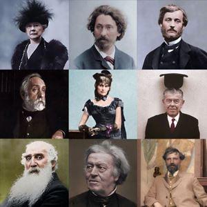 Picture of Ressamların Renklendirilmiş Fotoğrafları 2
