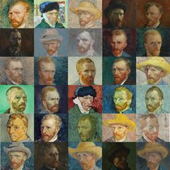 Self-Portraits - Vincent van Gogh picture