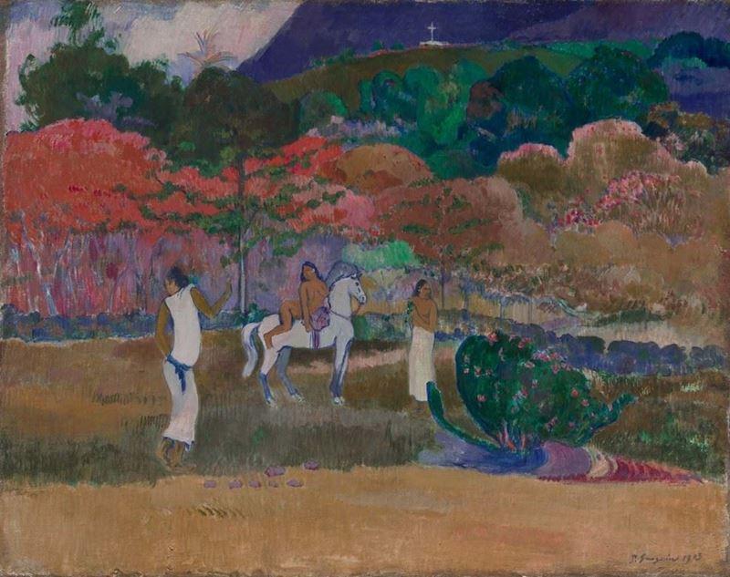 Kadınlar ve Beyaz At, 1903 resmi
