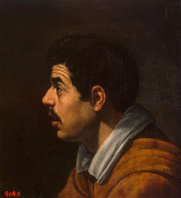 Bir Adamın Başı, 1616-1617 resmi