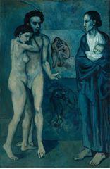 Yaşam, 1903, Tuval üzerine yağlıboya, 196.5 x 129.2 cm, The Cleveland Museum of Art, Cleveland, ABD.