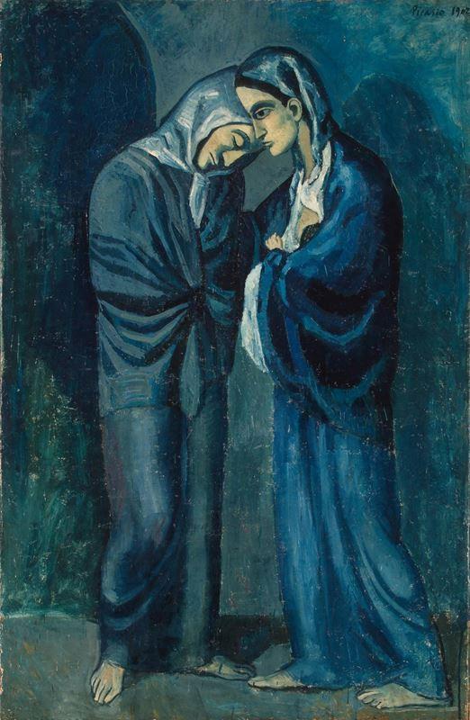 İki Kız kardeş (Karşılaşma), 1902 resmi
